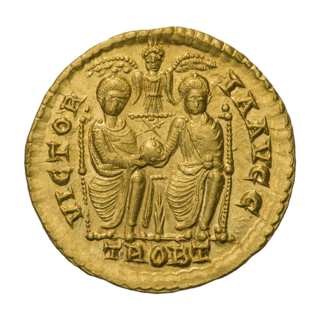 Valentinianic dynasty Roman imperial dynasty in Late Antiquity, r. 364–392 and 421–455