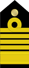 IN Admiral of the NAVY Shoulder curl