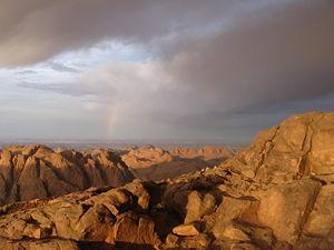 Sinai Peninsula -  Mount Sinai (Gabal Musa)