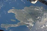 ISS-20 Caribbean island of Hispaniola from the ISS.jpg