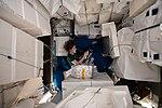 ISS-59 Christina Koch works inside the Leonardo PMM.jpg