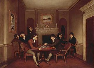 Portraits of the Gentlemen of the Hereford Chess Society
