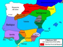 carte espagne 1492