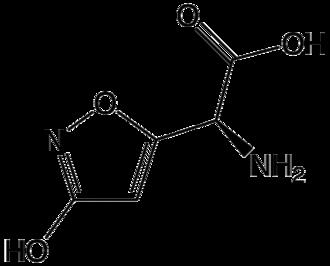Ibotenic acid - Image: Ibotenic acid 2