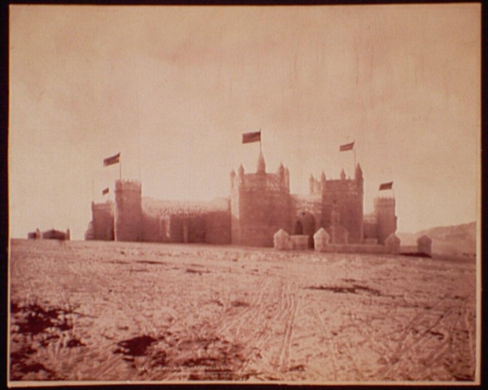Ice Palace, Leadville, Colorado, 1896