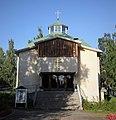 Iisalmen ortodoksinen kirkko (Iisalmen profeetta Elian kirkko; Ilmari Ahonen, 1957) - Kirkkopuistonkatu 28 - Iisalmi - 3.jpg