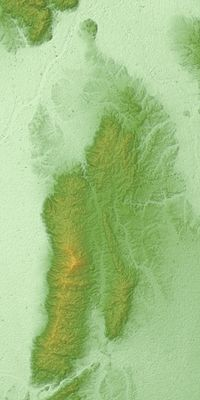 Ikoma Mountains Relief Map, SRTM-1.jpg
