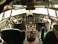 Il-18 cockpit - Malev Hungarian Airlines.JPG
