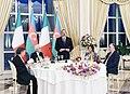 Ilham Aliyev hosted official reception in honor of Italian President Sergio Mattarella.jpg