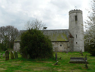 St Margaret, Ilketshall - Image: Ilketshall St Margaret g 1
