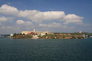 Royal Naval Hospital - The earliest surviving Royal Naval Hospital complex is on Illa del Rei, Port Mahon, Menorca (established 1711, rebuilt 1771-6, restored 2011)