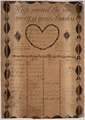 Illustrated family record (Fraktur) found in Revolutionary War Pension and Bounty-Land-Warrant Application File... - NARA - 300030.tif