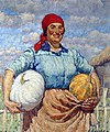 Ilya Mashkov - Farmer with pumpkins.jpg