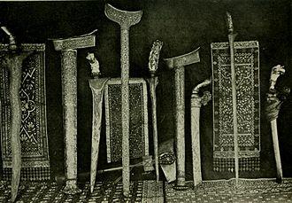 Perak Sultanate - Perak royal regalia.