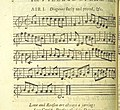 Image taken from page 13 of 'The Village Opera (in three acts, in prose; with songs) ... To which is added the musick to each song' (11219157223).jpg