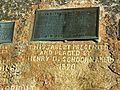 Independence Rock marker on rock.jpg