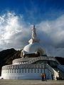 India - Ladakh - Leh - 066 - Shanti Stupa (3844568913).jpg