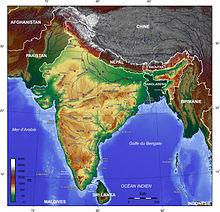 Carte Oro Hydrographique Chine.Geographie De L Inde Wikipedia