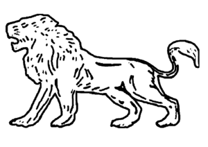 Maharashtrawadi Gomantak Party - Image: Indian Election Symbol Lion
