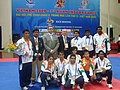 Indian Kickboxing team at the 2009 Asian Indoor Games.jpg