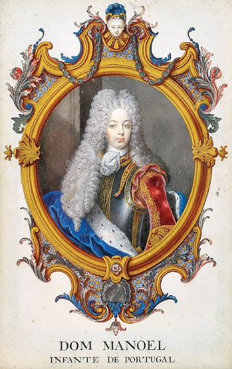 Treaty of the Three Black Eagles - Manuel of Braganza, Infante of Portugal, the candidate to the Polish-Lithuanian crowns.