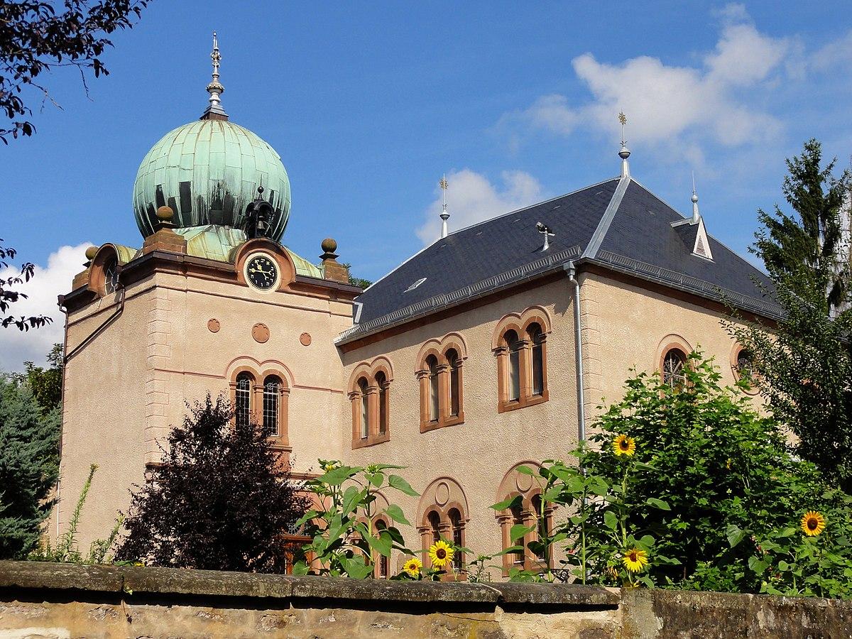 Synagogue D Ingwiller Wikip 233 Dia