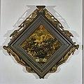 """Interieur, blazoen in kamer sociëteit """"Trouw moet blijken"""" (kleur) - Haarlem - 20097350 - RCE.jpg"""