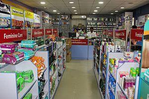 MedPlus - Interiors of a MedPlus Store