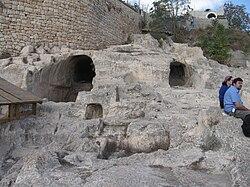 יוסי ביילין ליברמן שמעון פרס ונתניהו ניסו להעביר את מתחם קבר דוד לידי הוותיקן ולידי הכניסיה היוונית לכאורה 250px-Ir_David_287