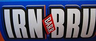 Irn-Bru - Previous IRN-BRU logo prior to 2016
