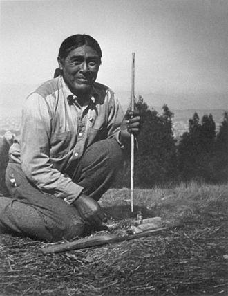 Yana people - Ishi, the last known survivor of the Yahi.