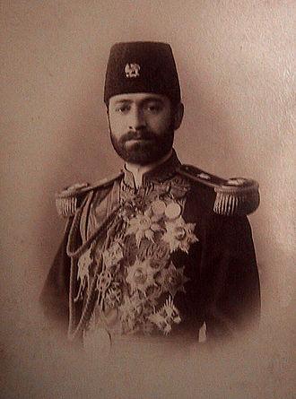 Esmail Momtaz od-Dowleh - Image: Ismail mumtaz sm
