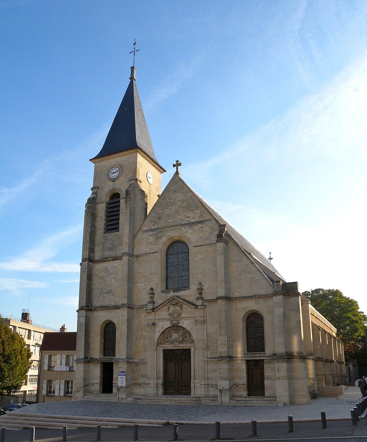 Glise saint tienne d 39 issy les moulineaux wikip dia - Les jardins d arcadie st etienne ...