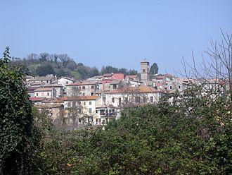Sacrofano - Image: Italia Lazio Sacrofano Panorama 3