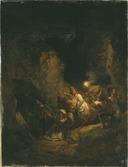 Italian Bandits Abducting Some Women (Alexander Lauréus) - Nationalmuseum - 17993.tif