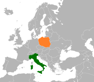 Italy–Poland relations Diplomatic relations between the Republic of Italy and the Republic of Poland