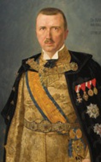 Iván Skerlecz - Iván Skerlecz portraited as Ban.
