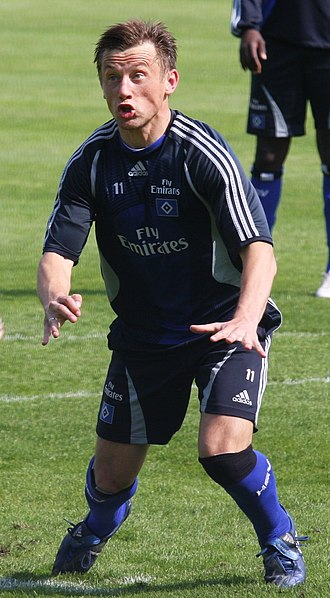 Ivica Olić - Olić with HSV.