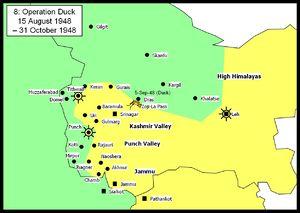 Operation Bison (Jammu & Kashmir 1948) - Operation Duck 15 August 1948 - 1 November 1948