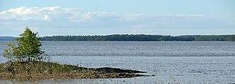 Konnevesi - Image: Järvinäkymä Konnevesi Pyhälahti