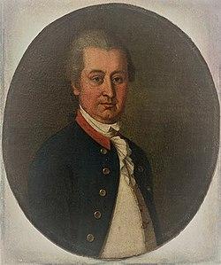 Юзеф Потоцький на портреті