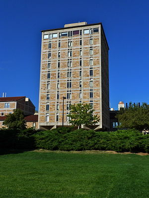JILA - The JILA tower at the University of Colorado