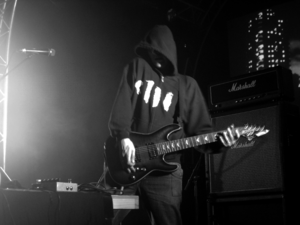 Justin Broadrick - The debut live performance of JK Flesh at Roadburn Festival in Tilburg, Holland on 12 April 2012.
