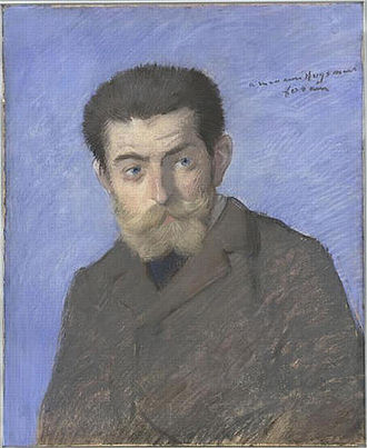 Joris-Karl Huysmans - A portrait of Huysmans, by Jean-Louis Forain, c. 1878
