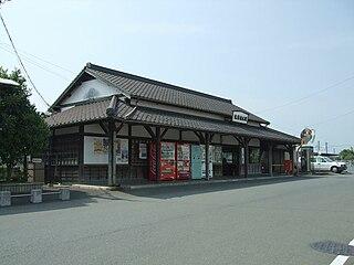 Chikuzen-Ueki Station railway station in Nogata, Fukuoka prefecture, Japan