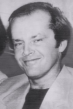 Jack Nicholson won twice from eight nominations for his roles in One Flew Over the Cuckoo's Nest (1975) and As Good as It Gets (1997). Jack Nicholson - 1976 (new).jpg