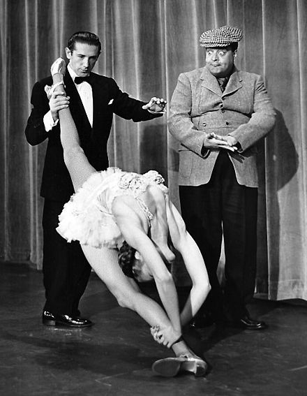 Gleason as the Poor Soul on Toast of the Town in 1954