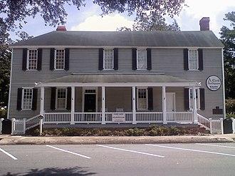 St. Marys Historic District (Georgia) - Jackson-Clark-Bessent-MacDonell-Nesbitt House c.1801