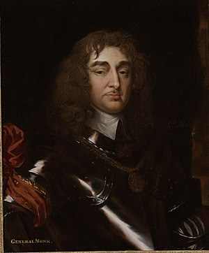George Monck, 1st Duke of Albemarle - Portrait of General Monck by Jacob Huysmans