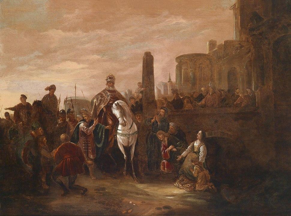 Jacob Willemsz de Wet Triumph des Mordechai